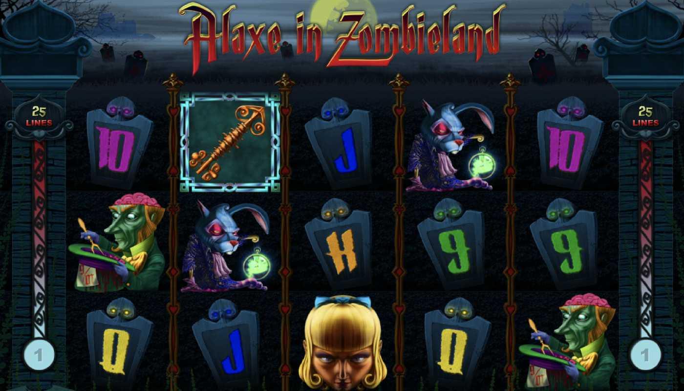 Alaxe in Zombieland screenshot 1