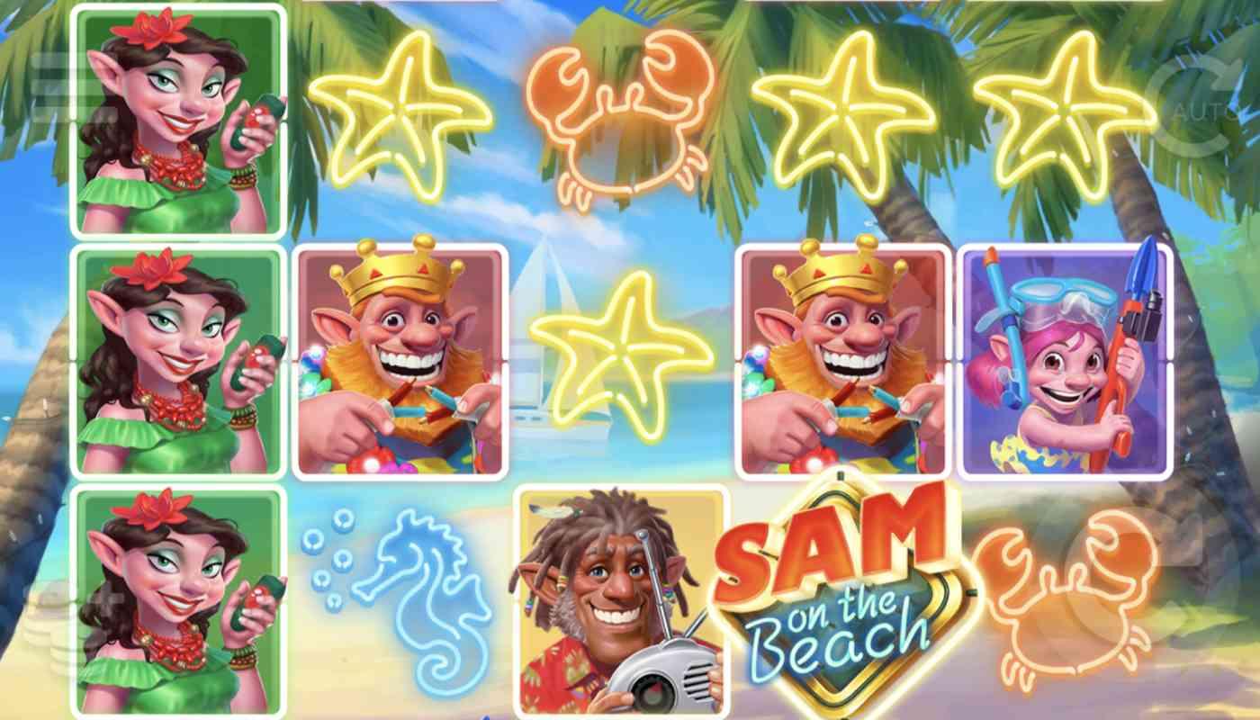 Sam on the Beach screenshot 1