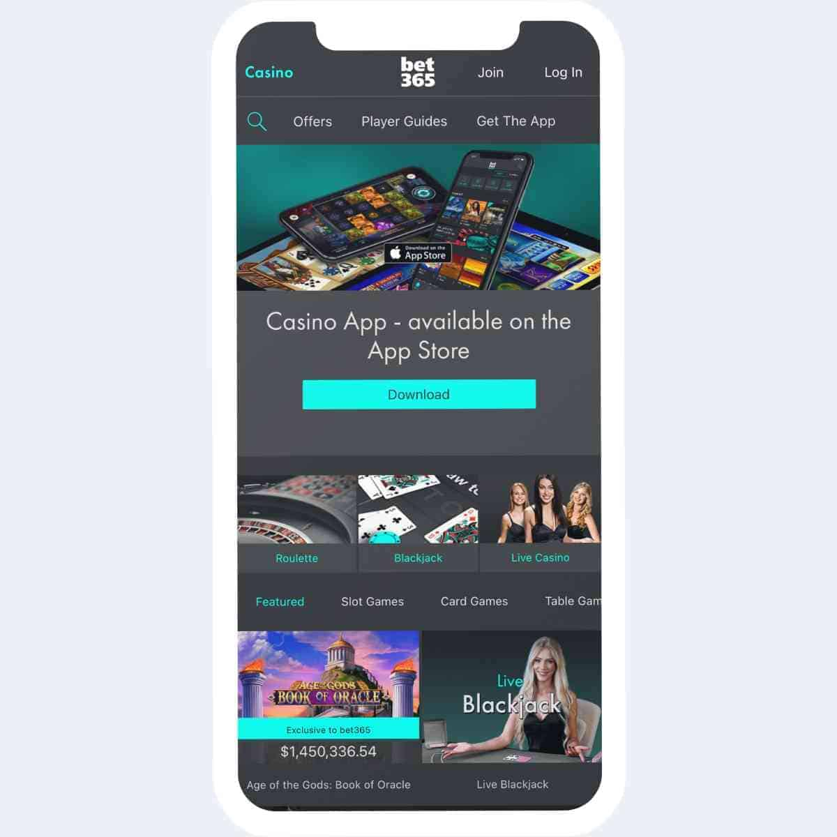 bet365 homepage mobile