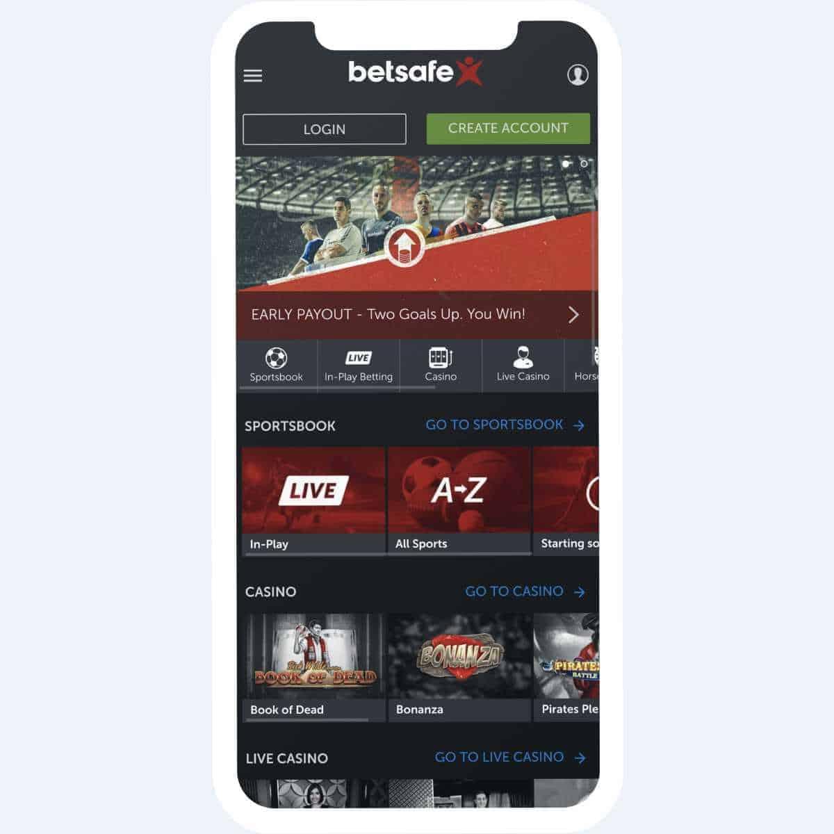 betsafe homepage mobile