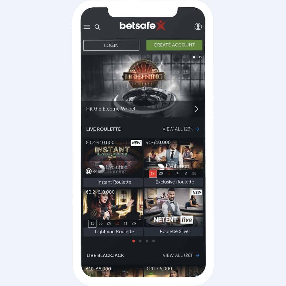 betsafe games mobile
