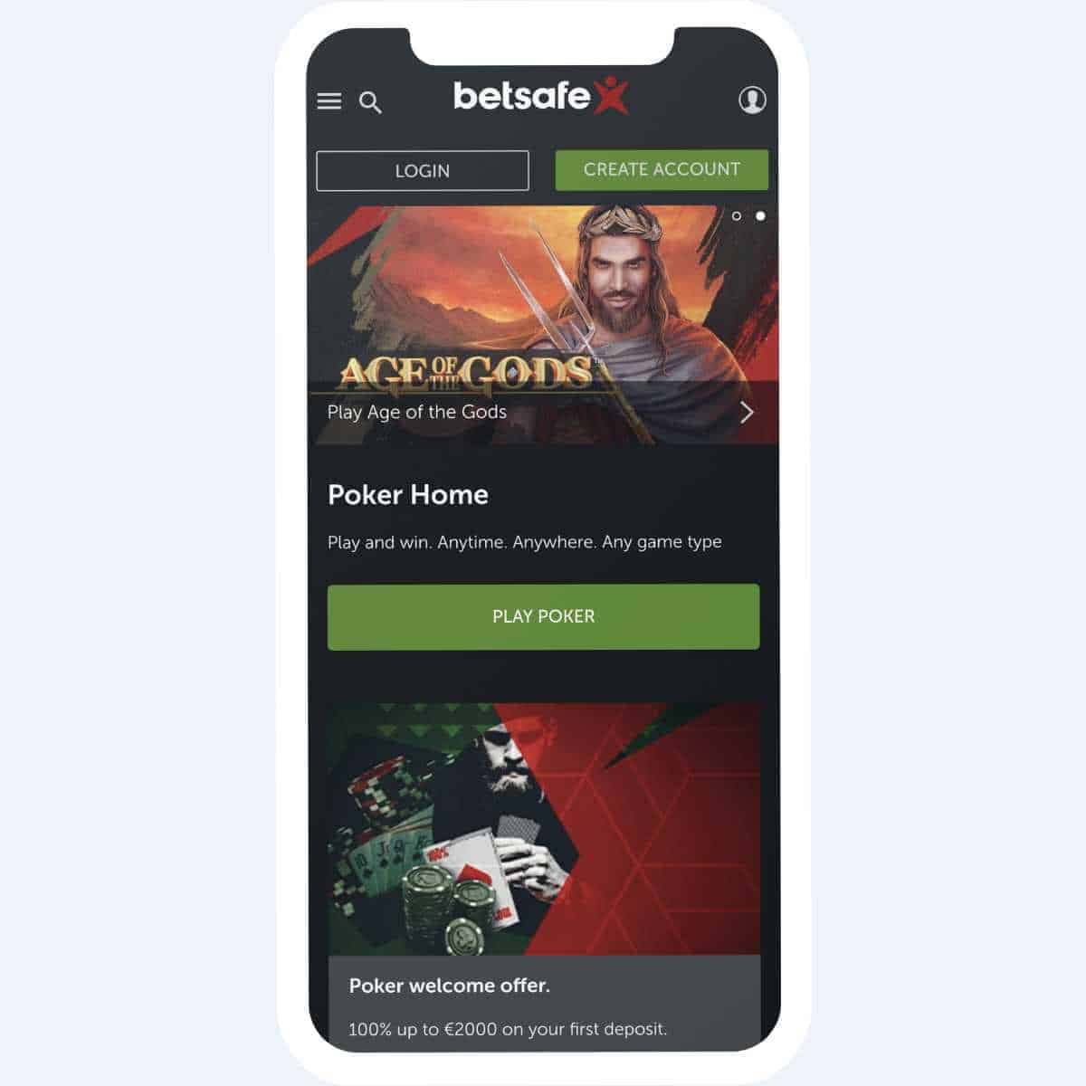 betsafe poker mobile