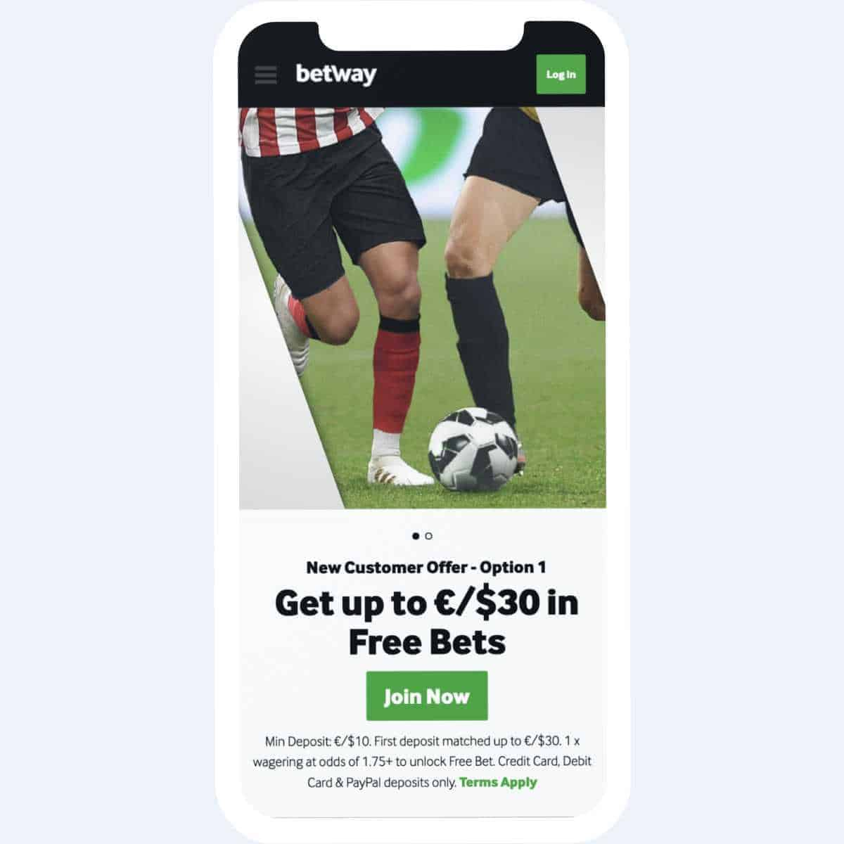 betway bonus mobile