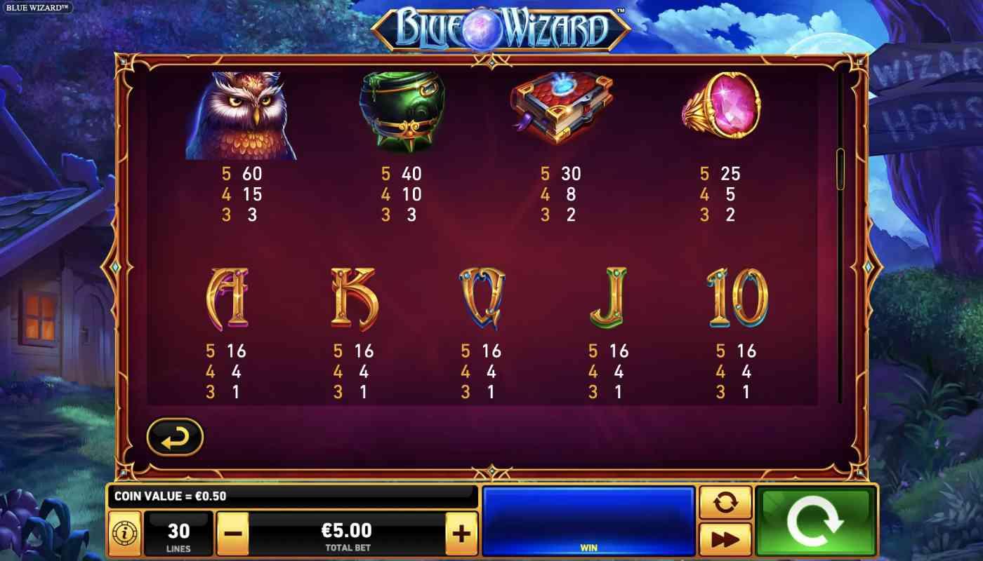 Blue Wizard screenshot 2