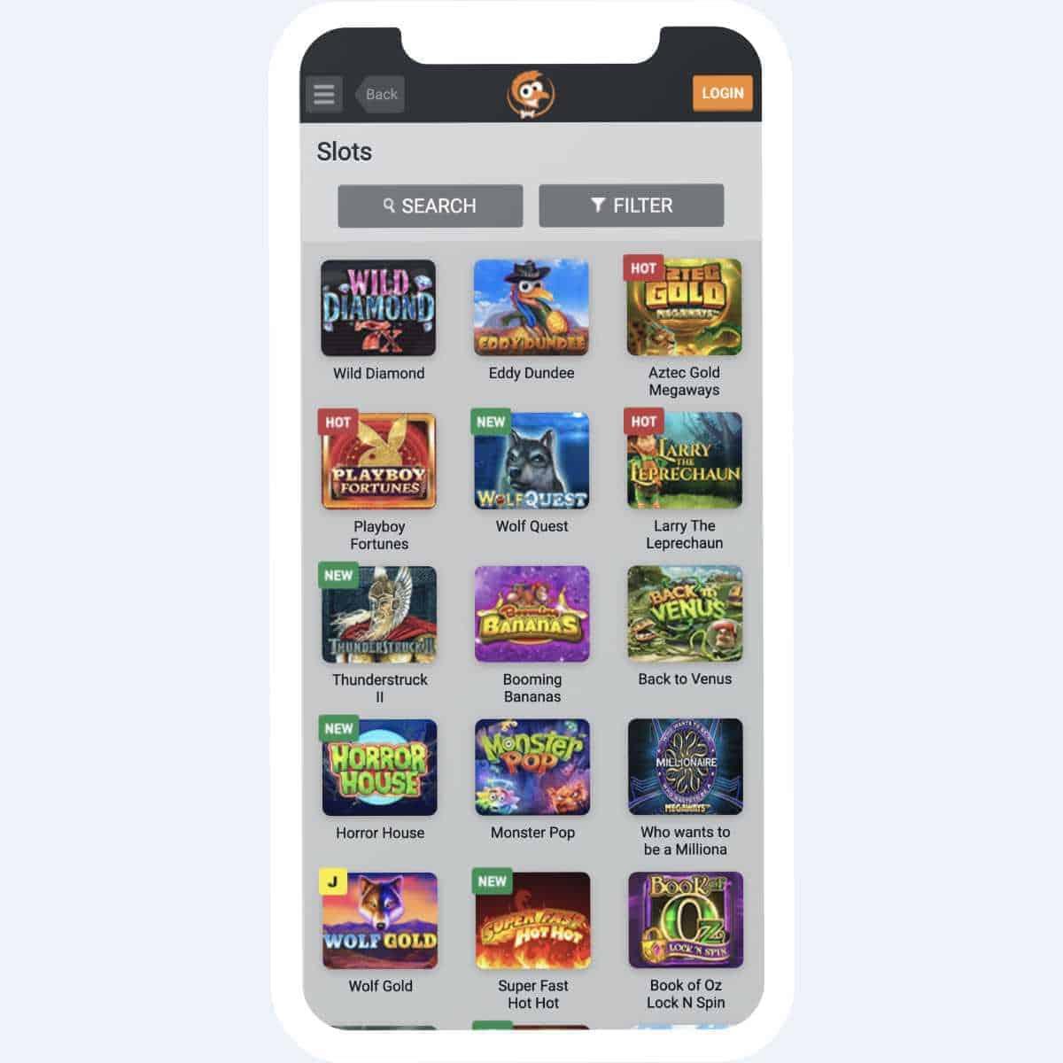 emu casino slots mobile