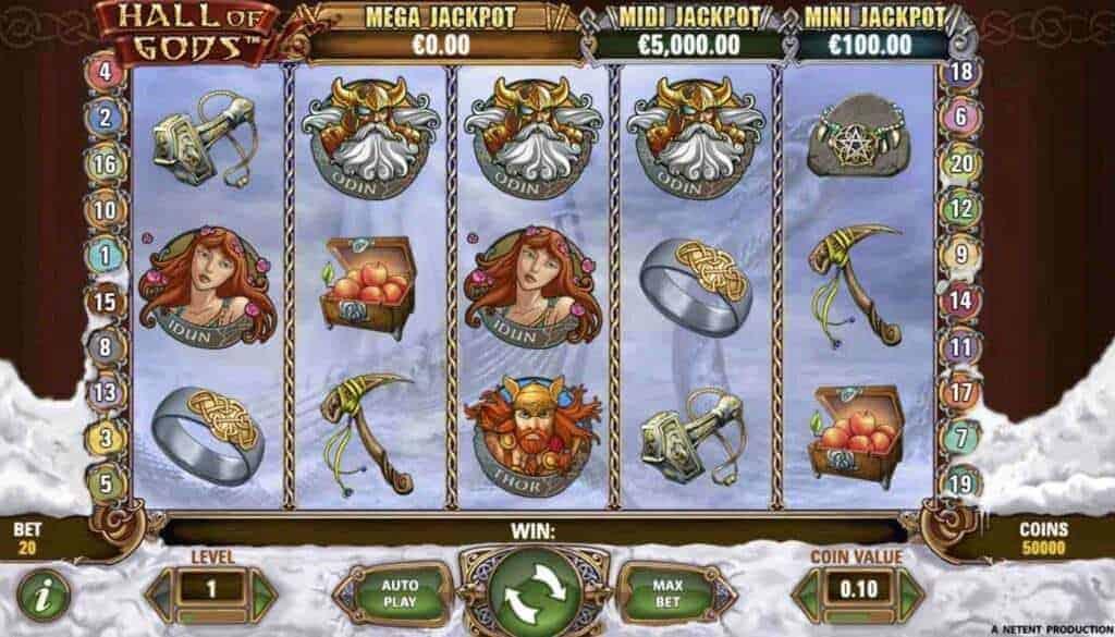 Hall of Gods screenshot 1