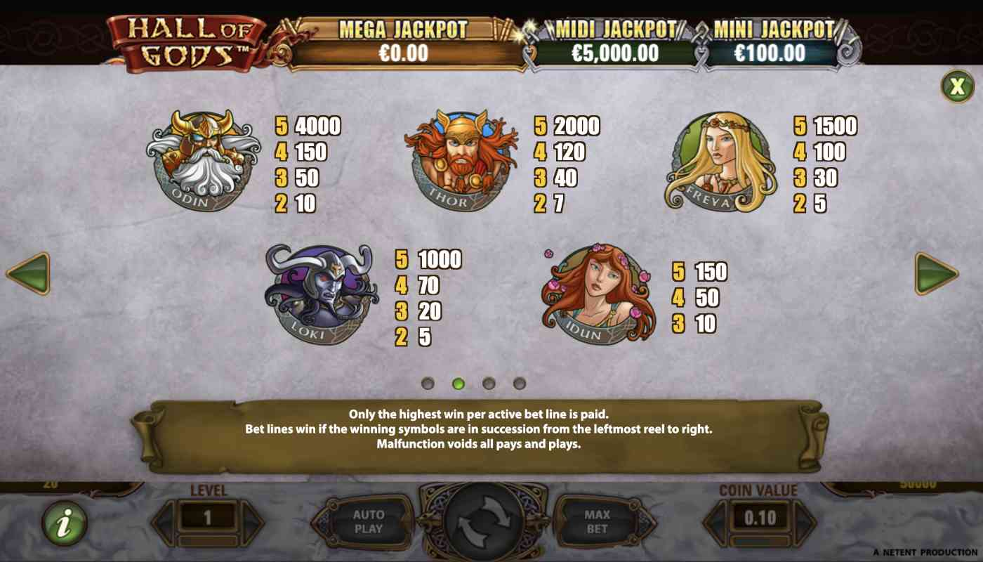 Hall of Gods screenshot 2