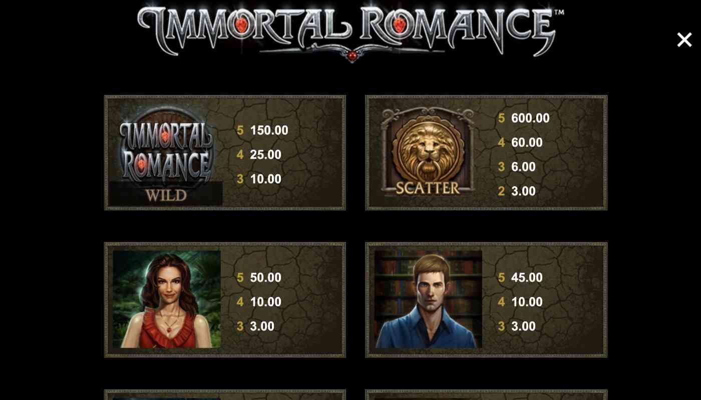 Immortal Romance screenshot 2