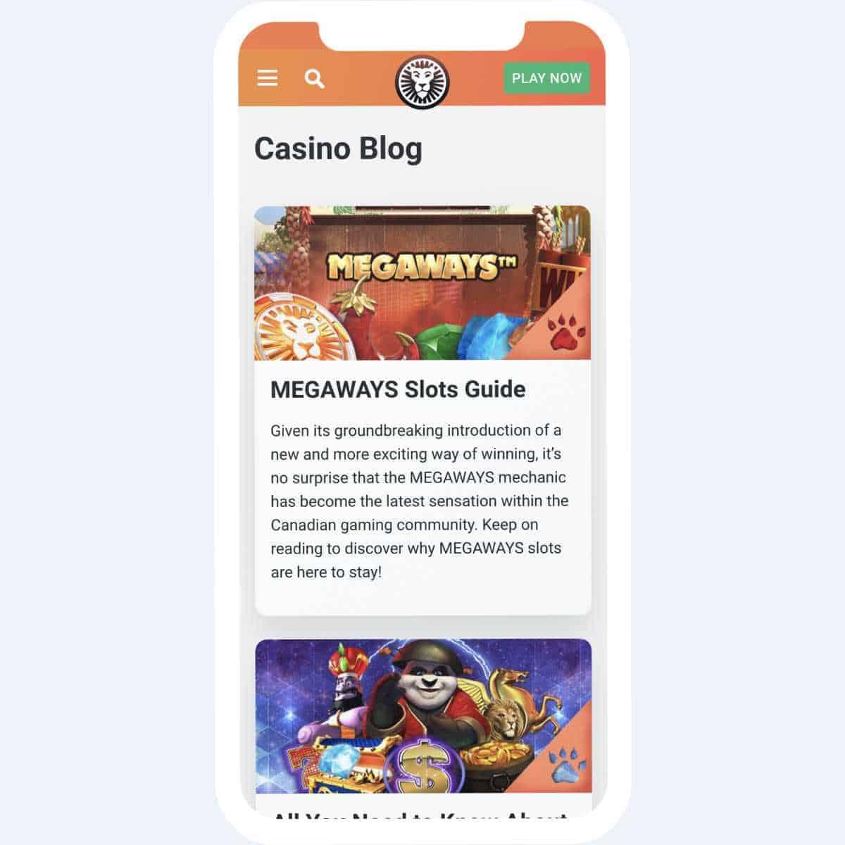 leovegas blog mobile
