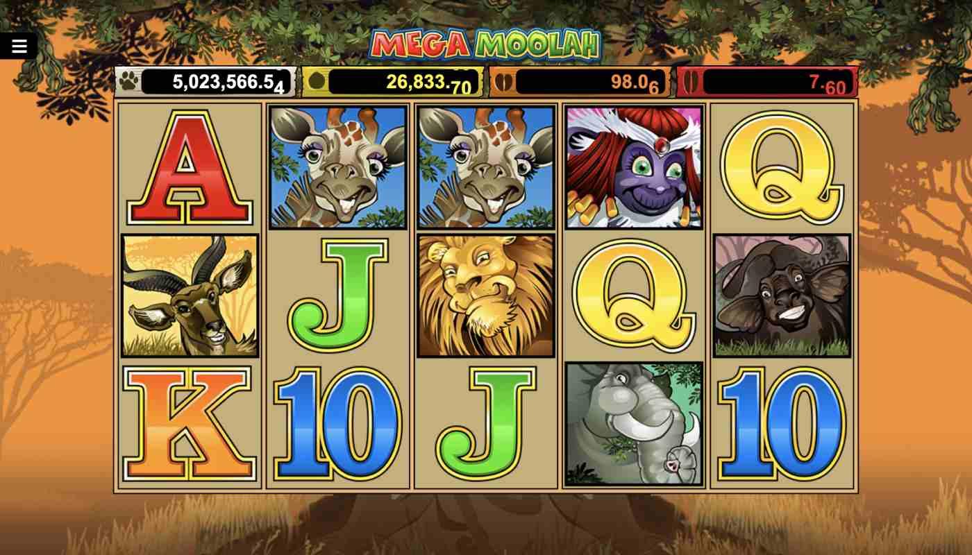 Mega Moolah screenshot 1