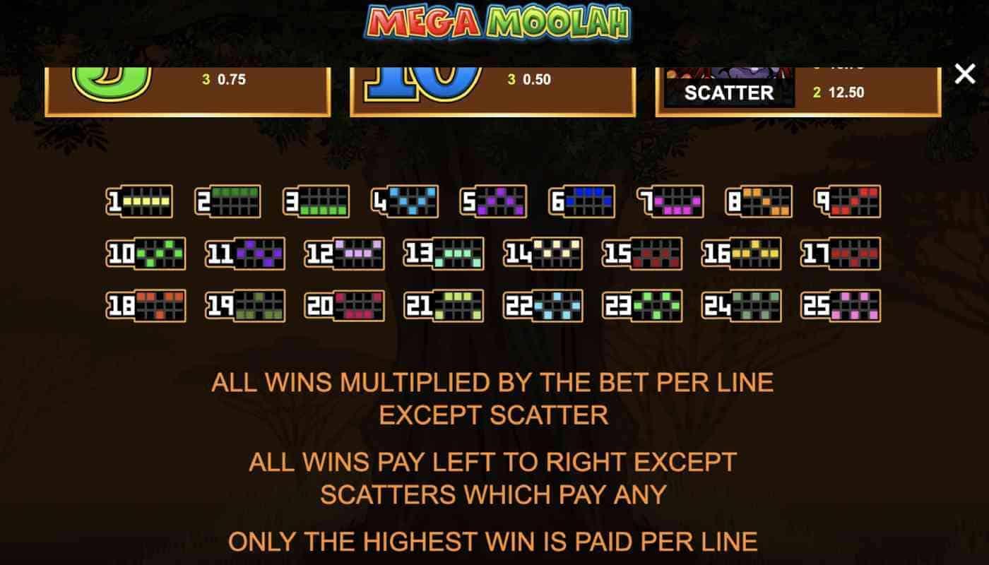 Mega Moolah screenshot 3