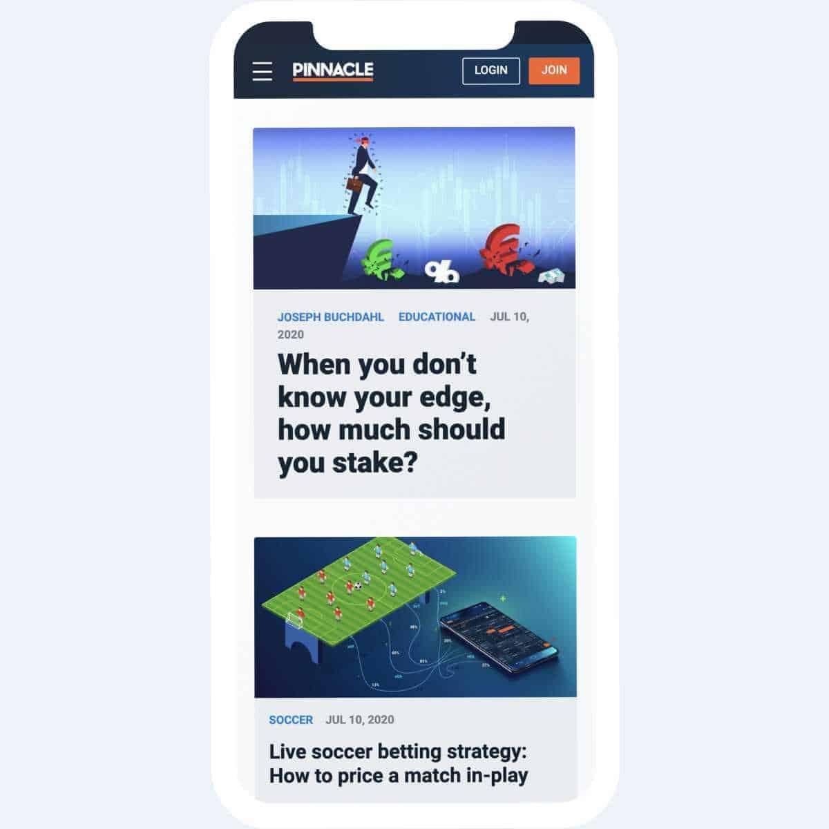 pinnacle sports blog mobile