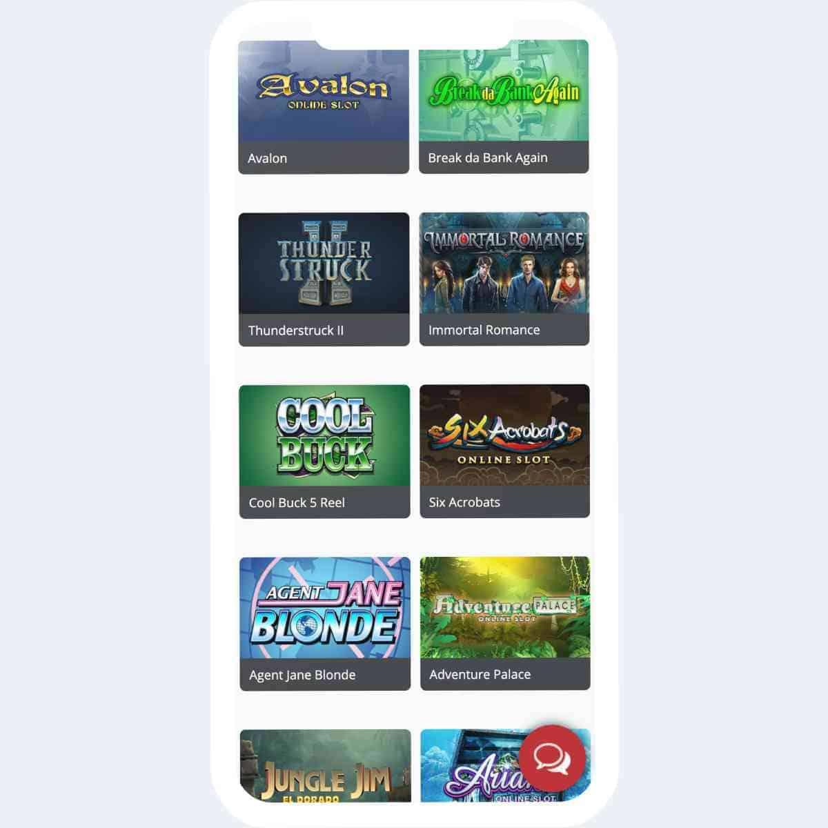 royal vegas games mobile