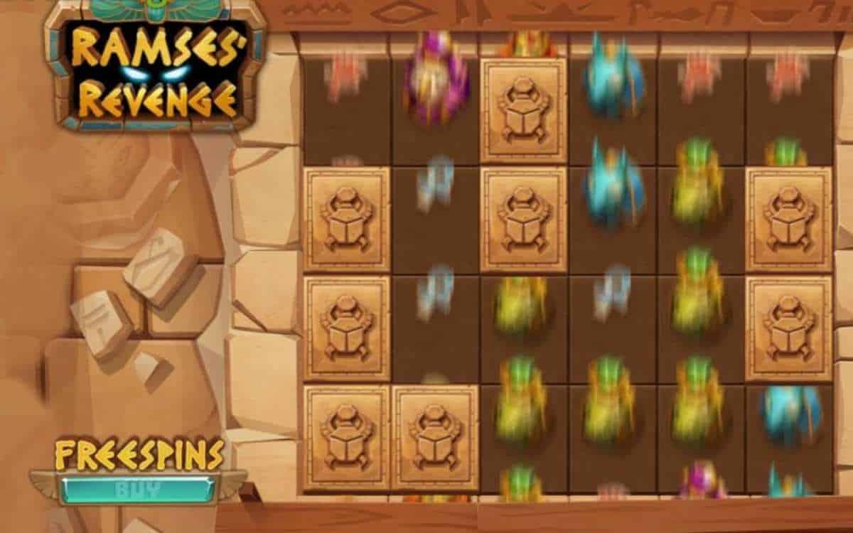 Ramses Revenge a new video slot game